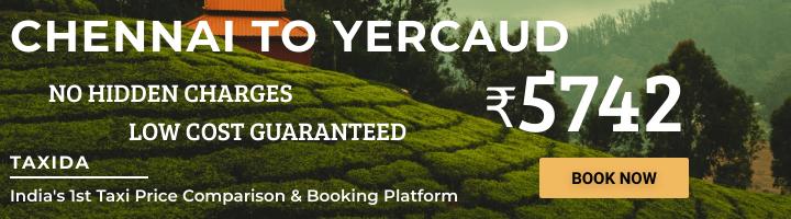 Chennai to Yercaud